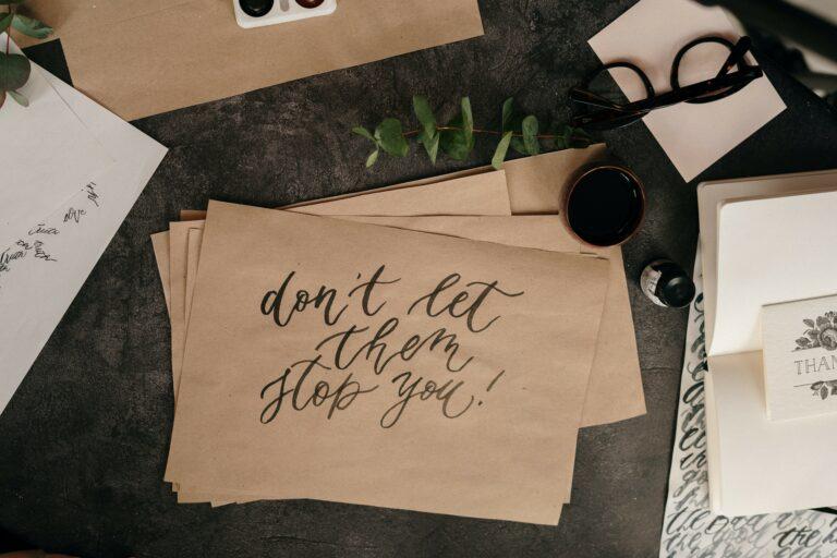 Jak kaligrafować, żeby nie zwariować